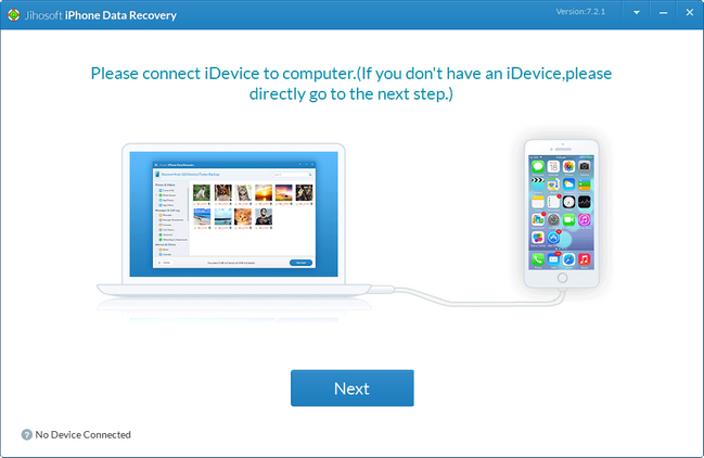 Jihosoft iPhone Data Recovery 7.2.7 With Serial Keys ! [Latest]  SadeemPC