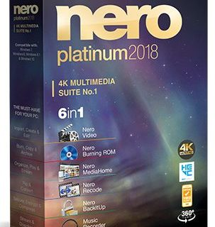 Nero Platinum 2018 Suite Full Crack