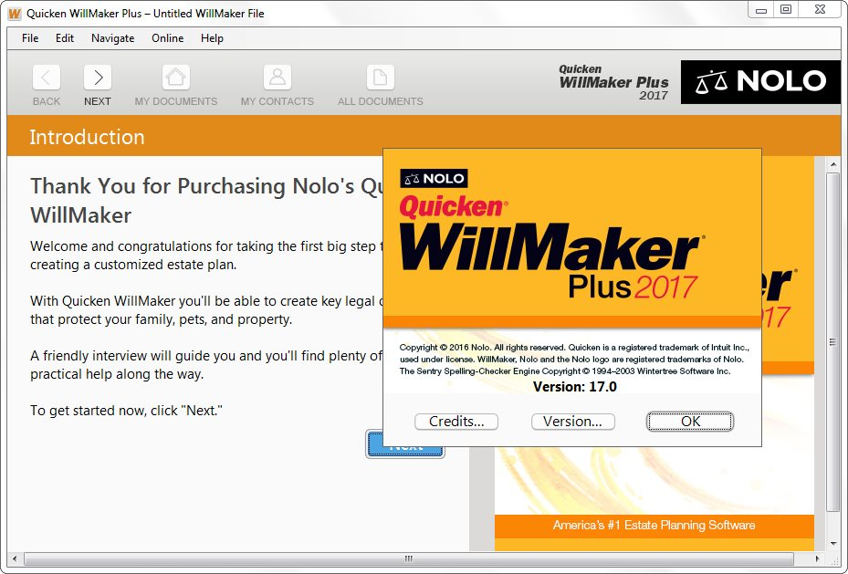 Quicken WillMaker Plus 2017 Full Version Crack