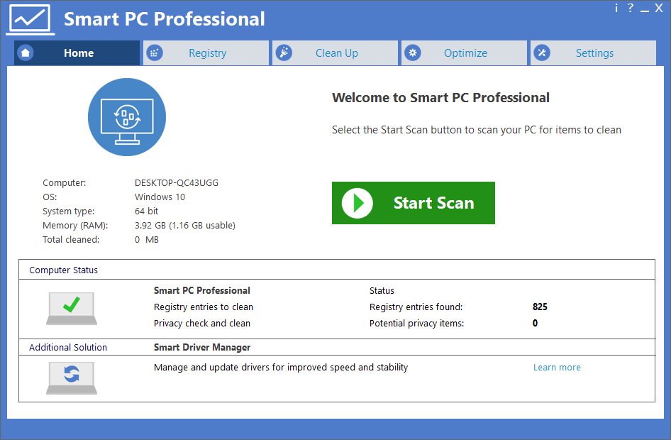 Smart PC Professional Crack Serial Key