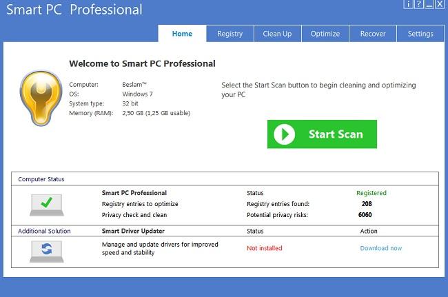 Smart PC Professional Full Crack