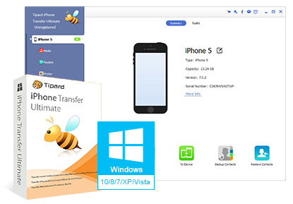 Tipard iPhone Transfer Ultimate 8.2.22 الايفون 2016 Tipard-iPhone-Transf