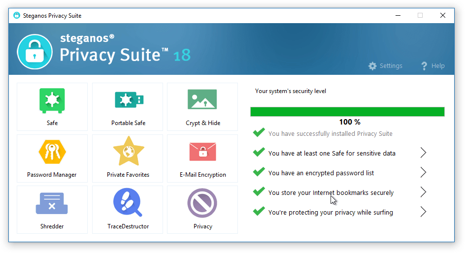 Steganos Privacy Suite 18 Full Version Serial Key