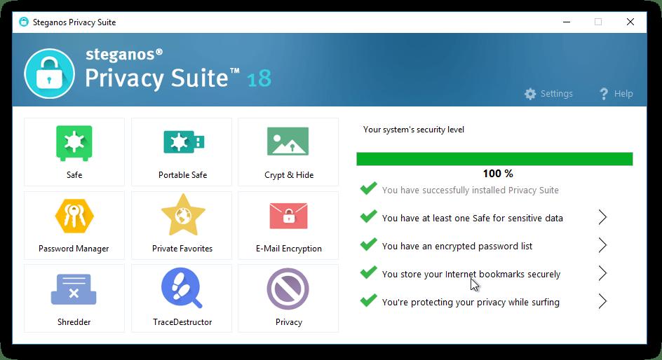 Steganos Privacy Suite 18 Full Version Serial Key