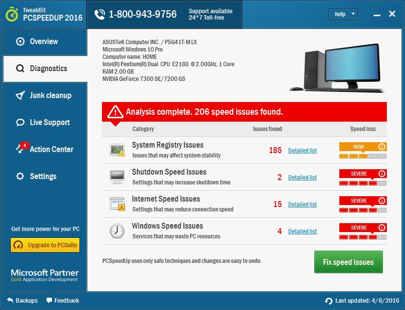 TweakBit PCSpeedUp Full Version