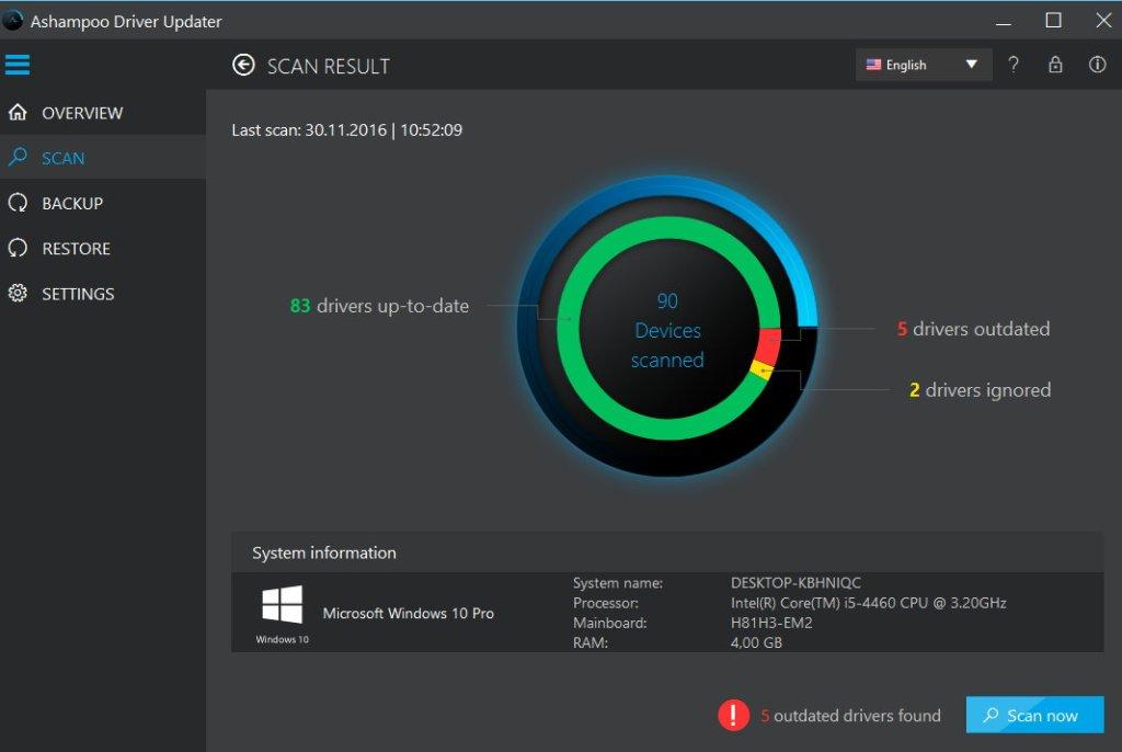 Ashampoo Driver Updater Crack Patch Keygen License Key Full
