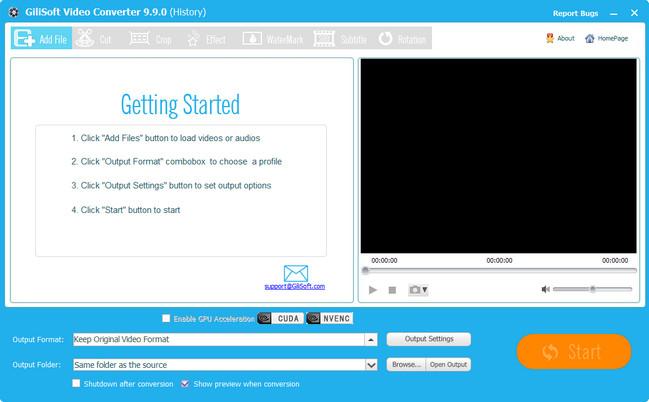 GiliSoft Video Converter Crack Patch Keygen Serial Key 2017