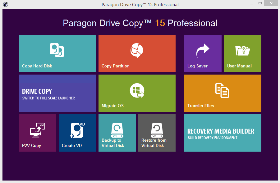 Paragon Drive Copy 15 Professional Crack Patch Keygen License Key 2017