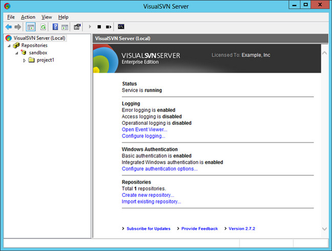 VisualSVN Server Enterprise Crack Patch Keygen License Key