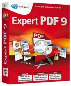 Avanquest Expert PDF Professional 9 Crack Patch Keygen Serial Key