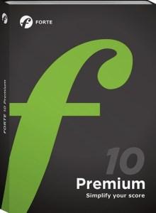 Forte Notation FORTE 10 Premium Crack