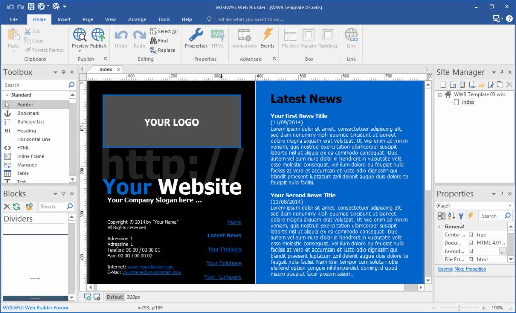 Image result for WYSIWYG Web Builder 15.1.0 crack