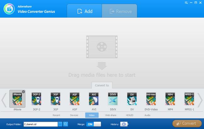 Adoreshare Video Converter Genius Full Crack