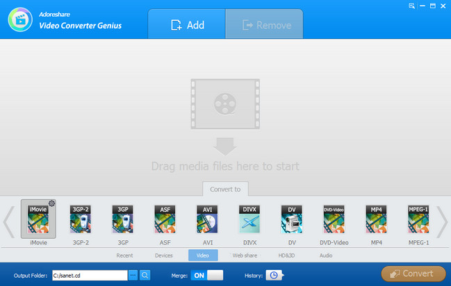 Adoreshare Video Converter Genius Full Crack