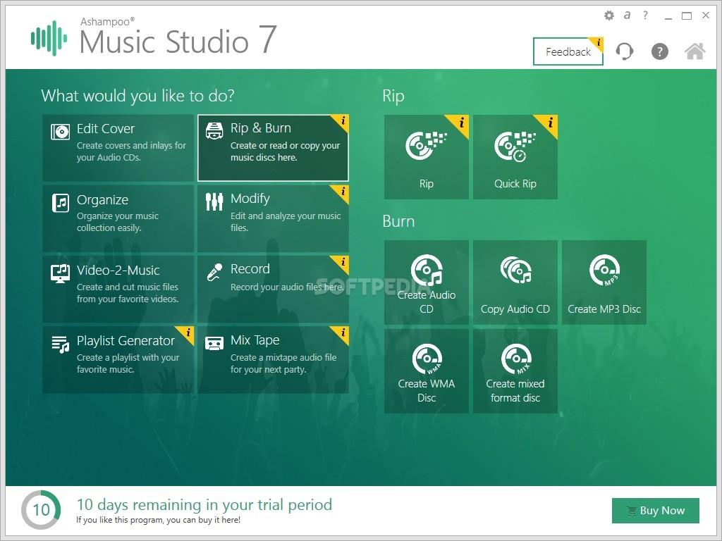 Ashampoo Music Studio 6 iso file