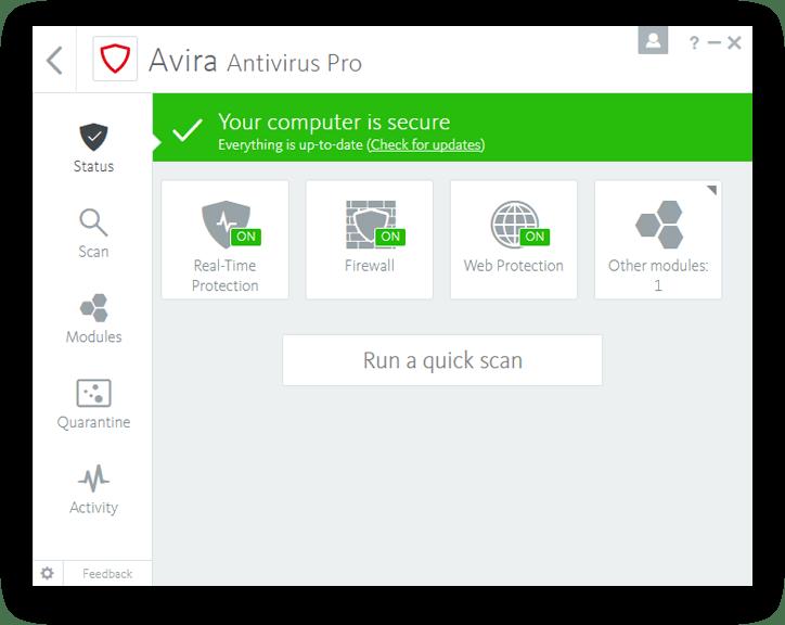 Avira Antivirus Pro Full Version Crack