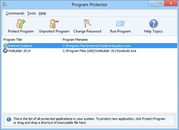 Blumentals Program Protector License Key