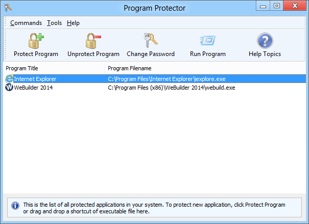 Blumentals Program Protector License Key