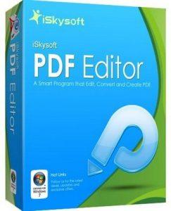 iSkysoft PDF Editor Professional Full Crack