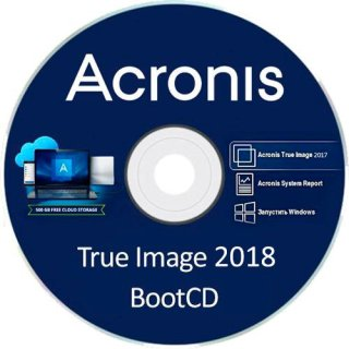 Acronis True Image 2019 Full Version BootCD