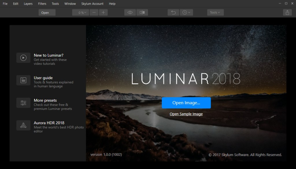 Luminar 2018 Full Crack Patch Keygen License Key