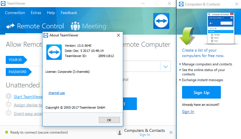 TeamViewer 13 Corporate Crack