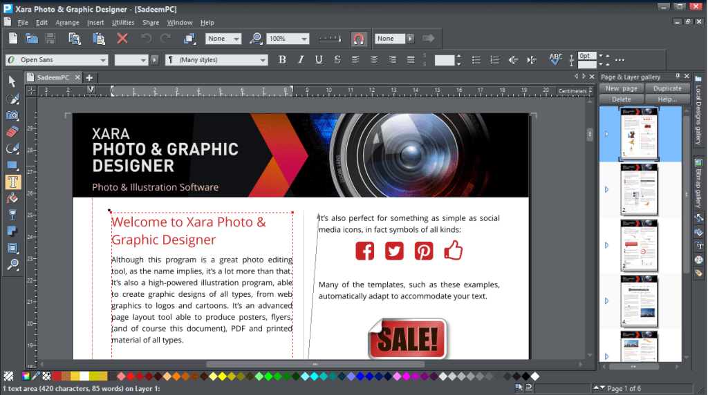 Xara Photo & Graphic Designer 15 Full Version Crack