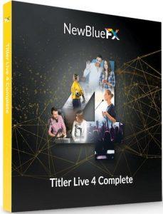 NewBlueFX Titler Live 4 Complete Crack