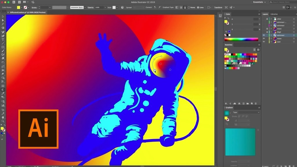 Adobe Illustrator CC 2019 Crack Patch Full Version