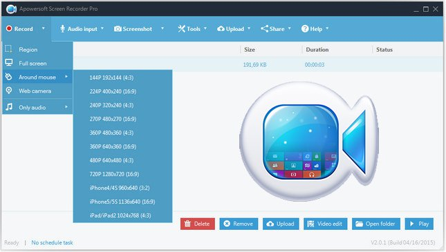 Apowersoft Screen Recorder Pro Crack Key