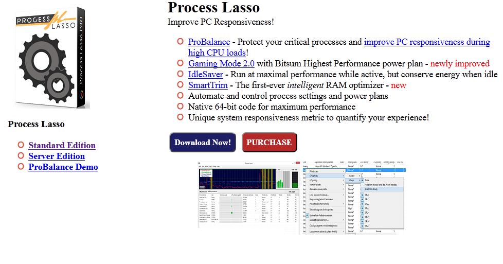 Bitsum Process Lasso Pro crack Patch