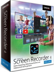 CyberLink Screen Recorder Deluxe Carck