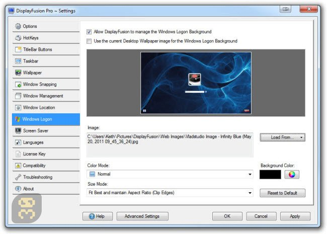 DisplayFusion Pro Crack Serial Key