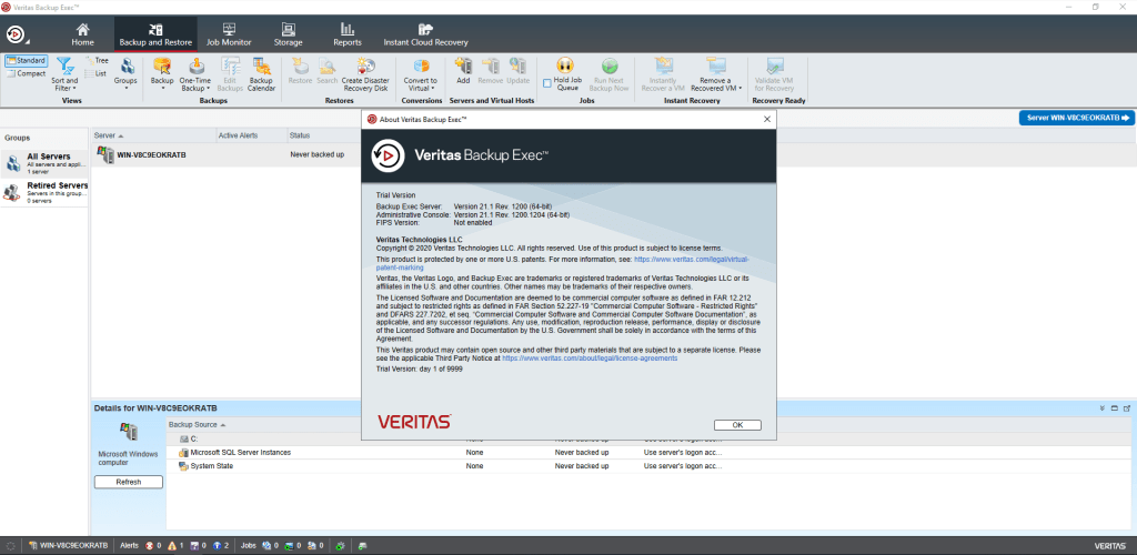 Veritas Backup Exec Crack Serial Key
