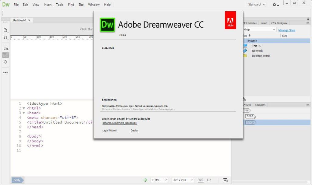 Adobe Dreamweaver CC Crack Serial Key