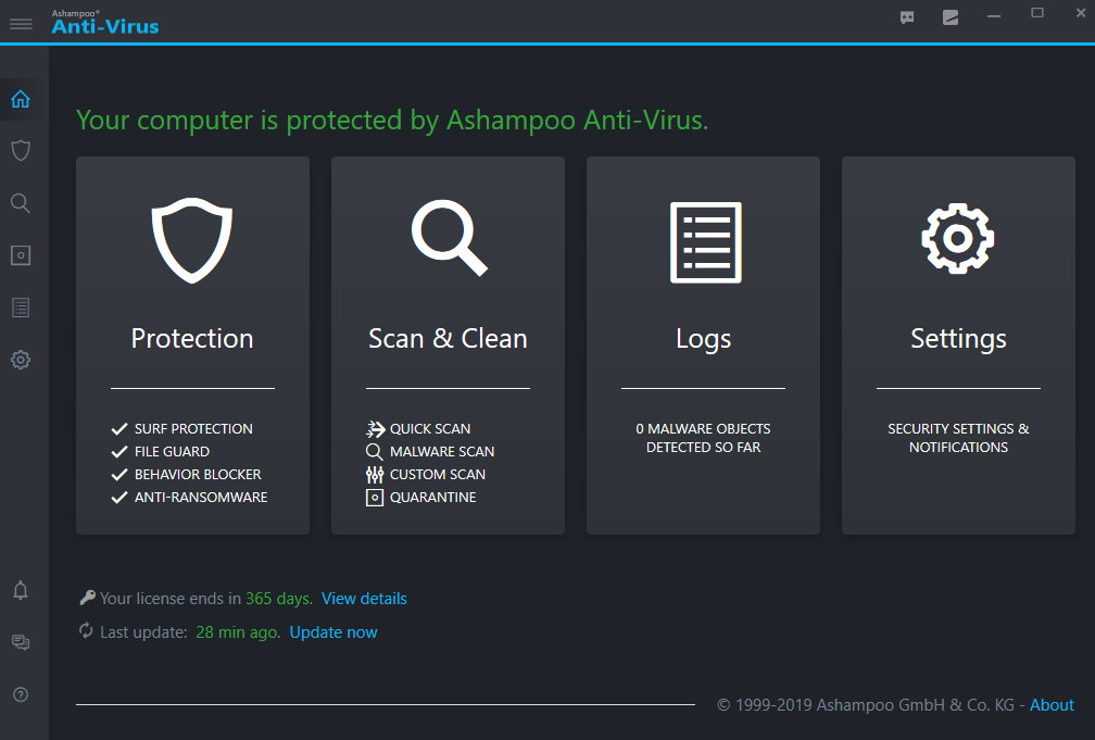 Ashampoo Anti-Virus crack Patch