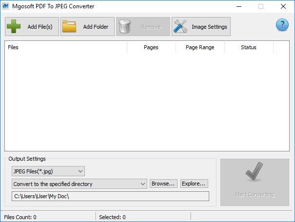 Mgosoft PDF To JPEG Converter crack patch