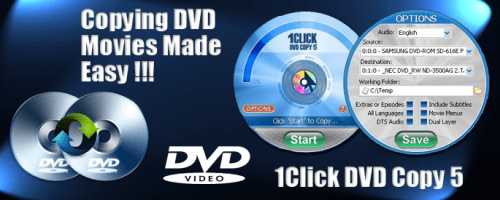 1CLICK DVD Copy Pro Crack Patch