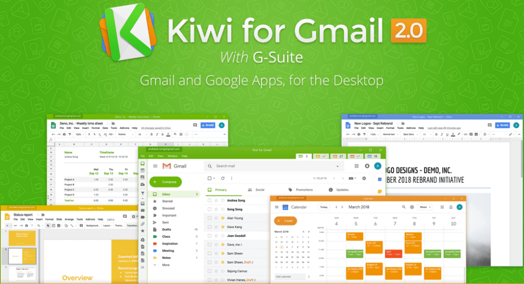 Kiwi for Gmail Crack Serial Key