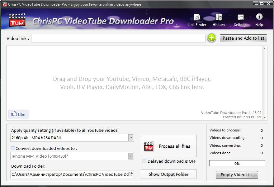 ChrisPC VideoTube Downloader Pro 12.09.14 With Crack   SadeemPC