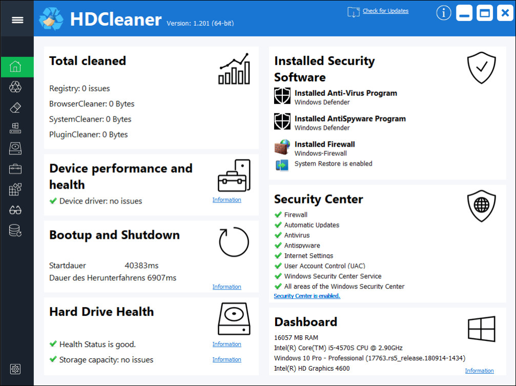 HDCleaner Crack Serial Key