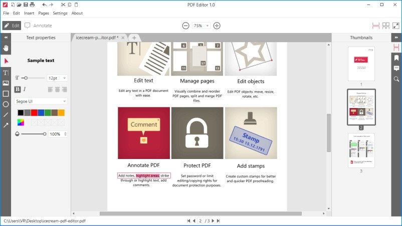 Icecream PDF Editor Pro Crack Serial Key