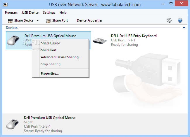 FabulaTech USB for serial key for remote computer crack