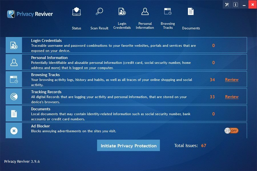 Privacy Reviver Crack Serial Key