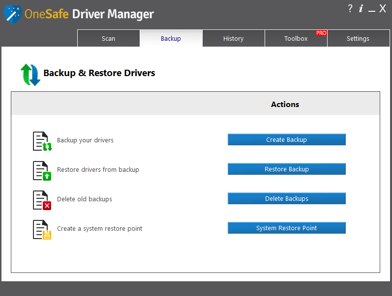 OneSafe Driver Manager Pro crack Patch