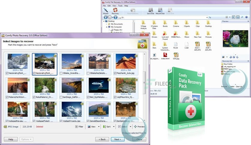 Comfy Data Recovery Pack License Key