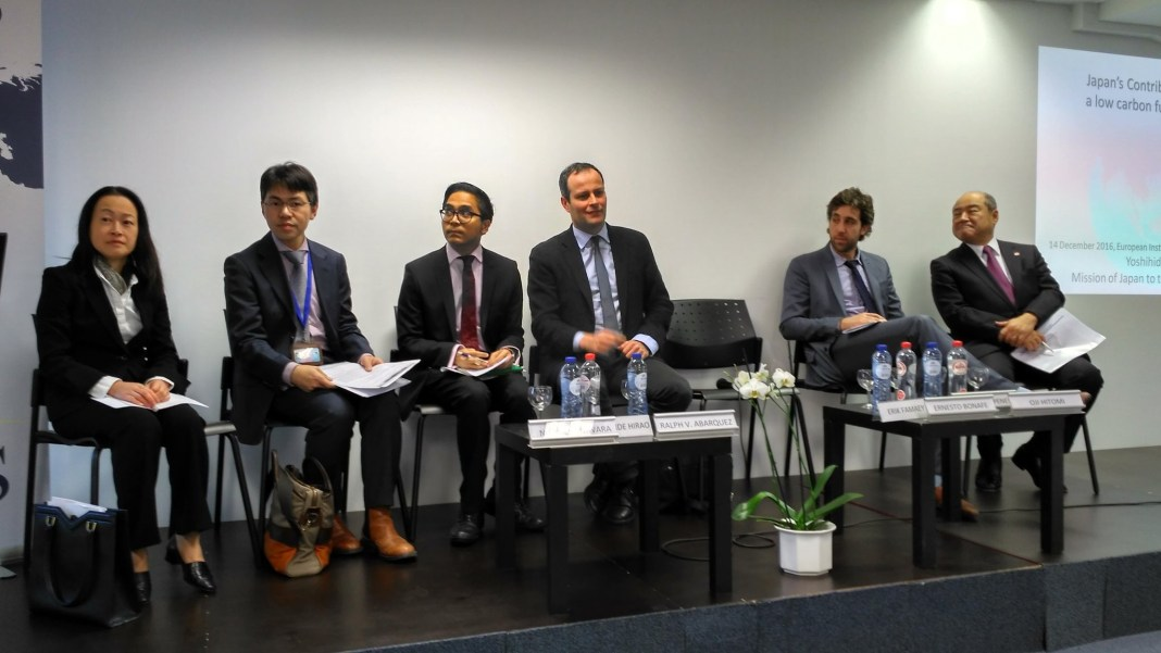 , Towards a low-carbon future in ASEAN: EU-Japan cooperation