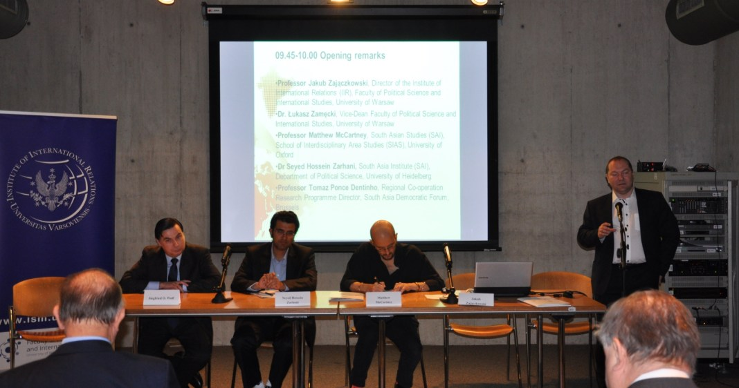 , SADF EVENT: International Relations in Asia-Pacific: multidimensional research perspectives'
