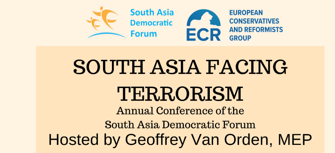 , PRESS RELEASE: SADF Annual Conference 'South Asia Facing Terrorism'