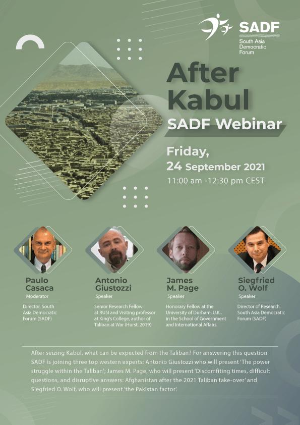 , SADF Webinar – After Kabul